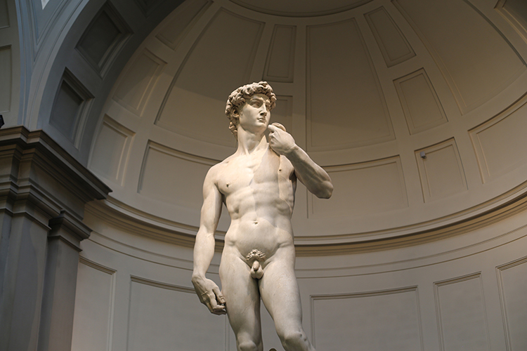 Florence City Center including the Accademia with Michelangelo's David Skip-the-Line Guided Tour – Private Tour in Russian