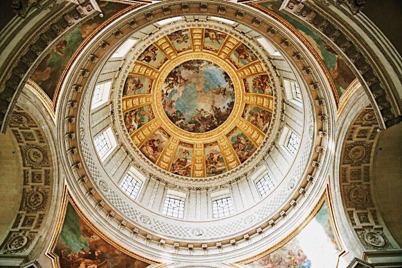 Париж-Invalides-тур-Dome