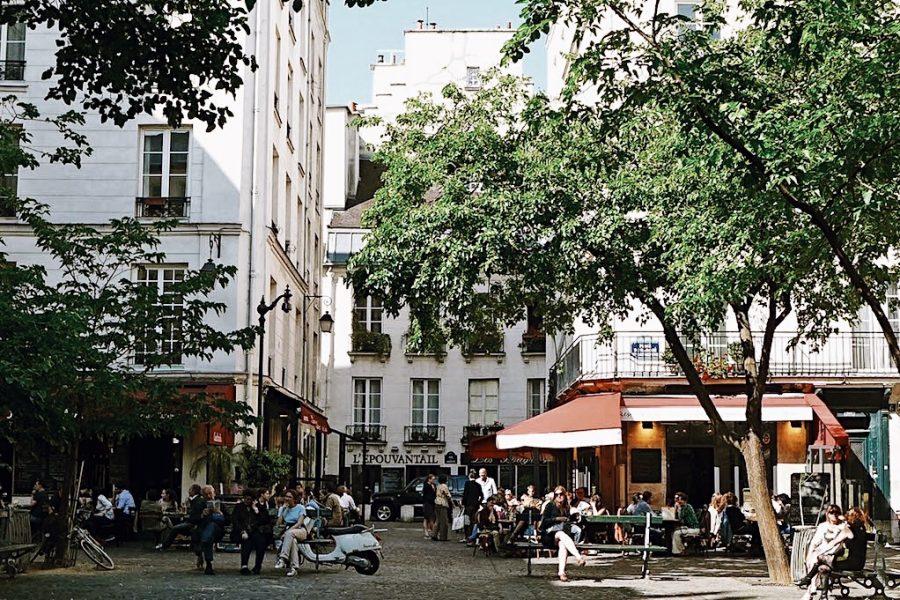 Париж-Тур-Marias-Walking-Guided