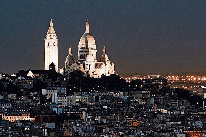 Париж-Тур-Монмартр-Сакре-Guided-Кер