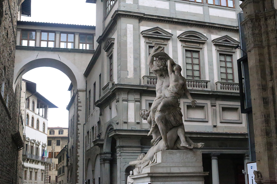 Florence City, Accademia with Michelangelo's David & Uffizi Museum Skip-the-Line Combo Tour – Private Tour in Russian