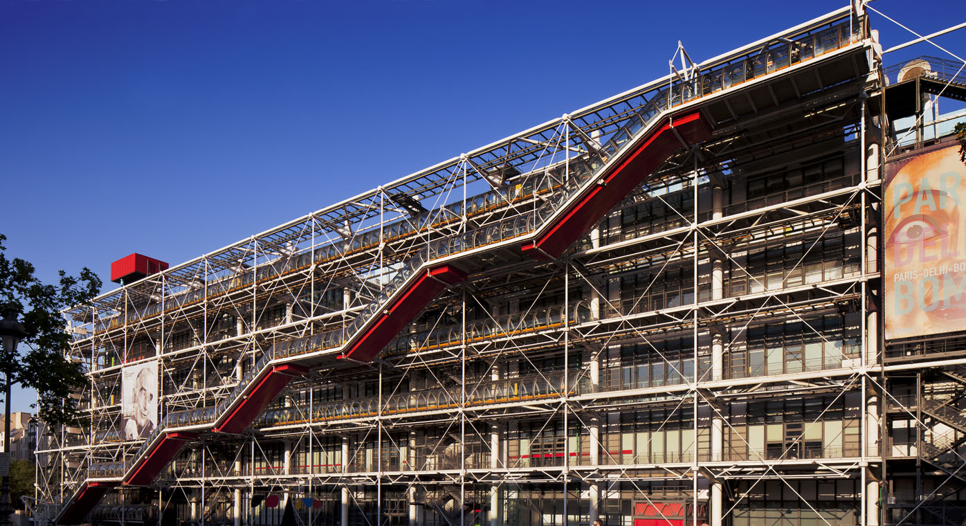 Centre Pompidou Modern & Contemporary Art Museum Skip-the-Line Guided Tour – Private Tour in Russian